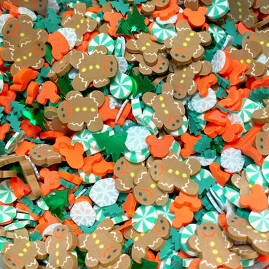 Gingerbread Christmas Sprinkle Mix