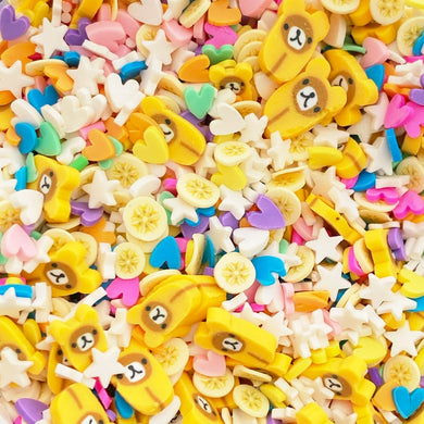 Cozy Bear Banana Sprinkle Mix