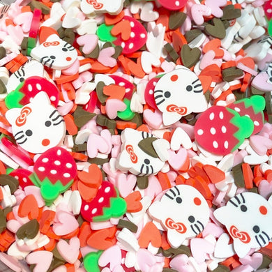 Strawberry Kitty Sprinkle Mix