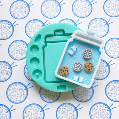 Cookie Jar Silicone Mold For Resin