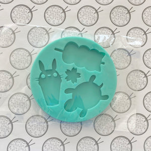 Totoro Turtle Silicone Mold NOT MADE BY ME