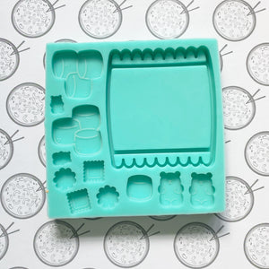 Jumbo Candy Packet Silicone Resin Mold
