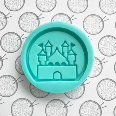 Enchanted Castle Silicone Resin Mold