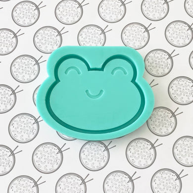 Frog Face Silicone Resin Mold