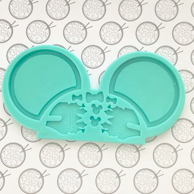 DIY Mouse Ears Silicone Resin Mold