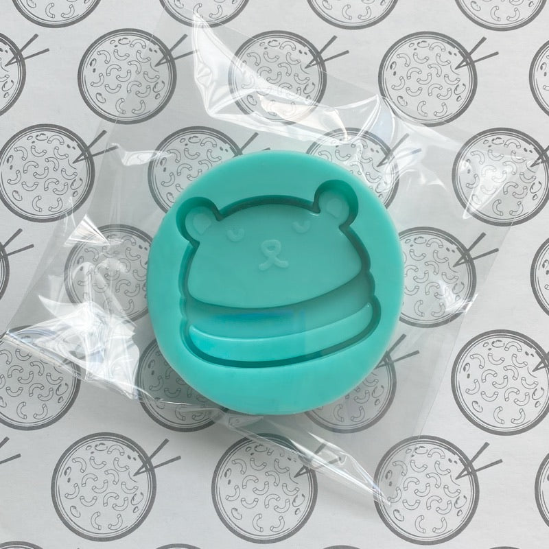 Bear Sandwich Single Silicone Mold for Resin