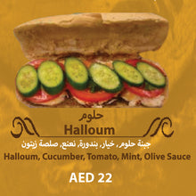 Load image into Gallery viewer, O-Halloum Sandwich Offer