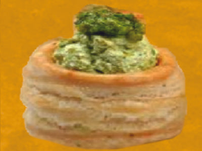 B-Mini Pesto Cheese