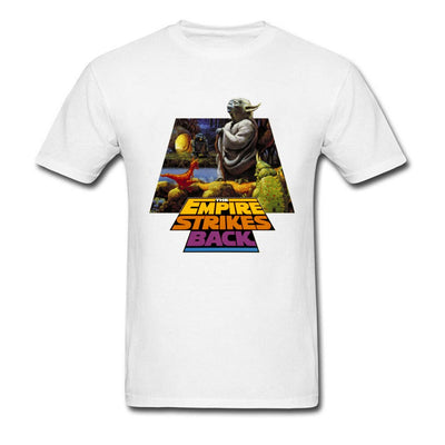 Yoda Tshirt Star Wars 6 Hope T-Shirt Infinity Civil War Master Of Dagobah Men's T Shirt 2018 Gorilla Arrival Atheist Teeshirt