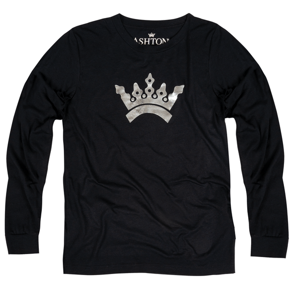 Ashton 'Chrome Crown' Long Sleeve Tee