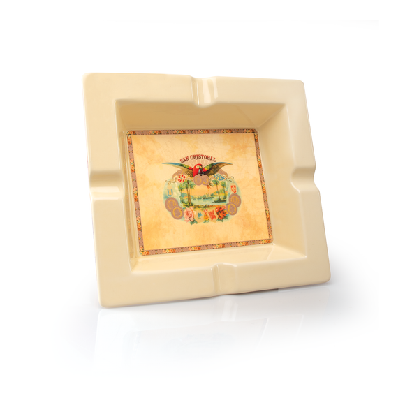 San Cristobal Square Ceramic Ashtray