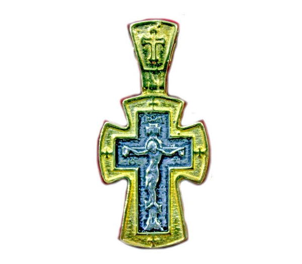 Pendant | silver Crucifix | 30 mm - Free shipping