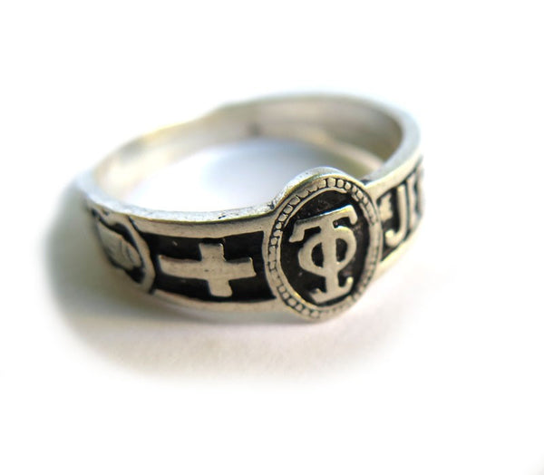 Holy Sepulcher silver ring