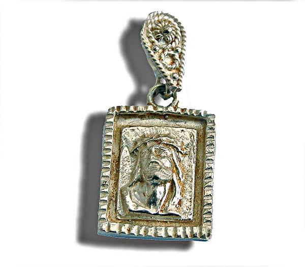 Jesus face Medallion - Free shipping