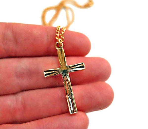 Special Cross - gold plated