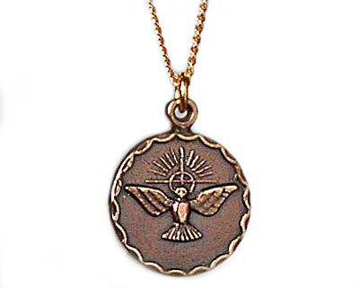 Holy Spirit Medallion