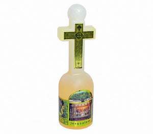 CROSS BOTTLE- JERUSALEM ANOINTING OIL