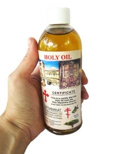 Holy Oil - The Holy Sepulcher
