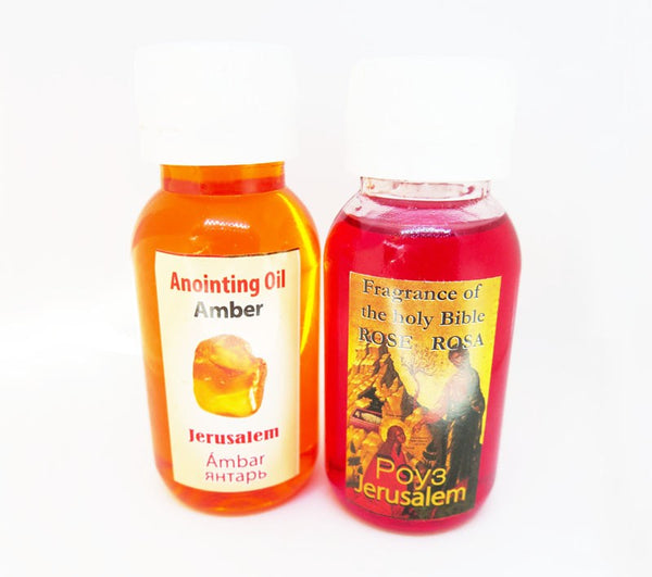 Rose & Amber Anointing oils