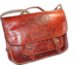Jerusalem - Satchel Leather bag