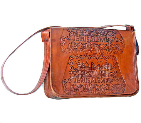 Leather Bag Jerusalem | Free shipping