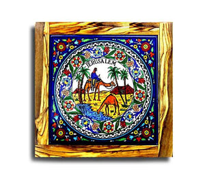 Armenian decorative coaster | Free shipping