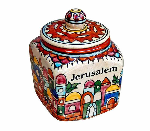 Ceramic Vessel | Jerusalem View
