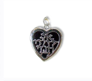 Beloved | Heart Pendant | Free shipping