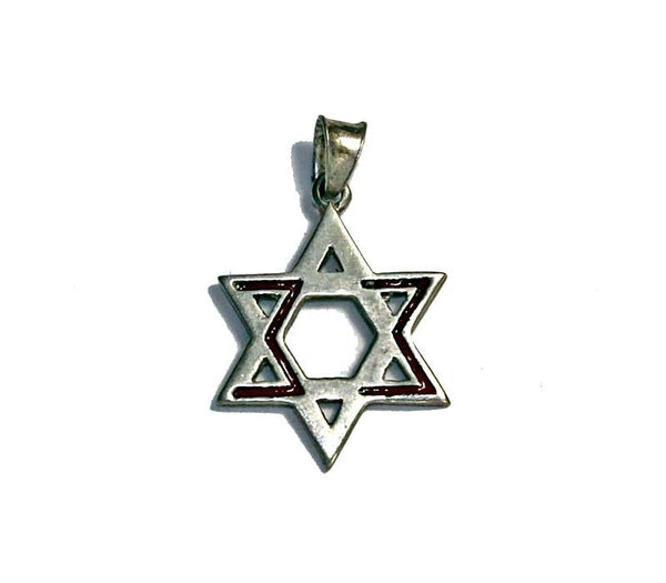 Messianic David Star Pendant