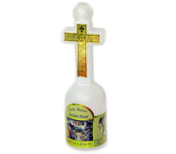 Cross Bottle - Jordan River Water