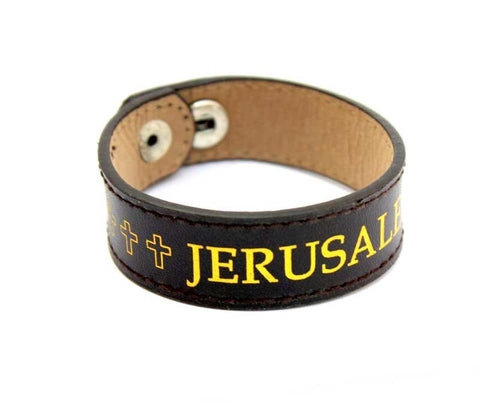 Leather Bracelet | Jerusalem