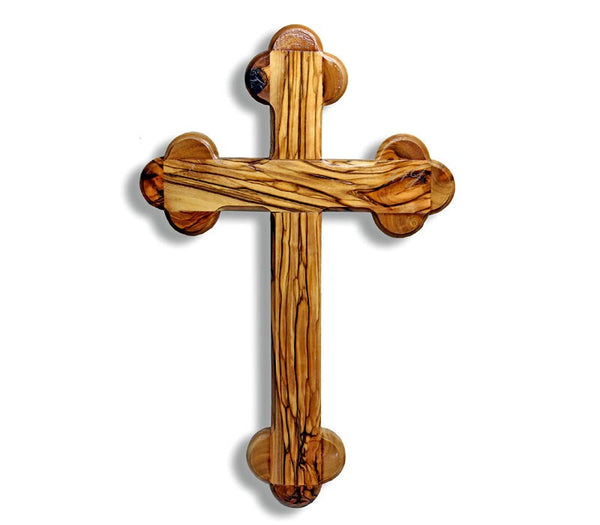 Olive wood Cross 25 cm - Latin