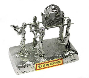 Ark of Covenant statue - silver plated