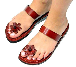 Jesus Sandals -model 41 on foot