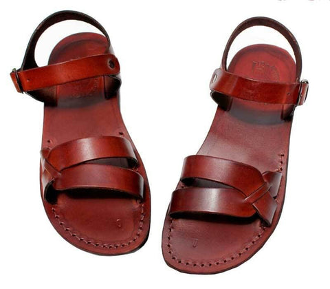 Jesus sandals leather model 7