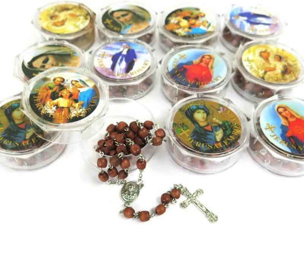 Set of 12 Rose Rosaries