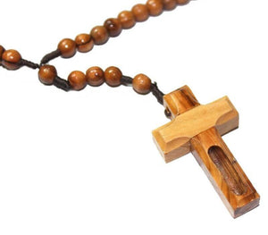 Rosary with Jerusalem Soil