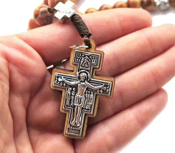 Hand Rosary - Franciscan cross