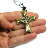 Lamb Cross pendant