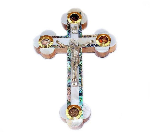 Mother of Pearl | Crucifix  FREE SHIPPING