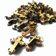 100 Crosses Olive Wood