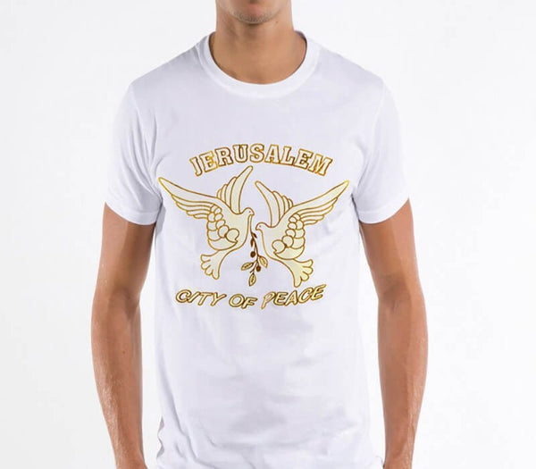 Jerusalem city of peace -  T- shirt