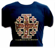 Jerusalem Cross - T-shirt