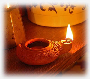 Clay Oil Lamp | reproduction