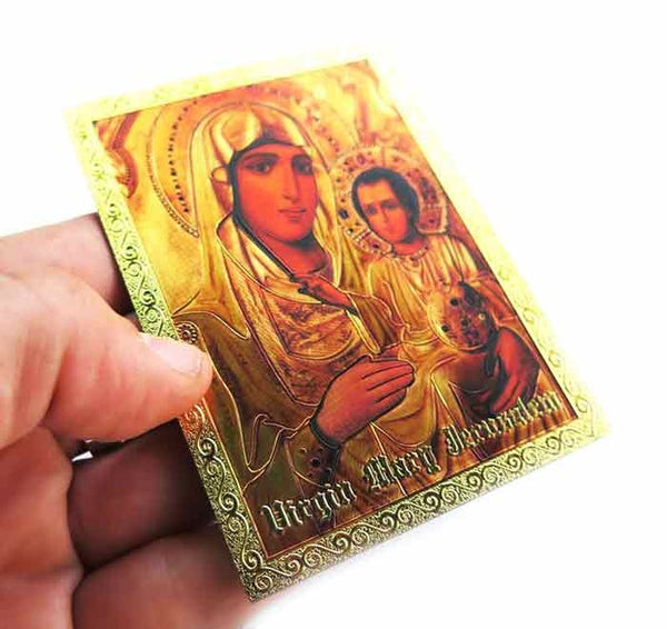 Icon magnet of Mary of Jerusalem
