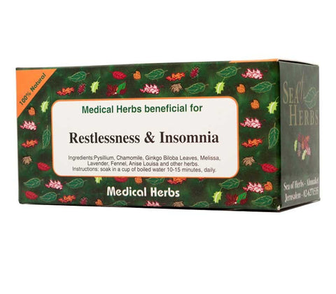 Restlessness and Insomnia Tea - Free shipping