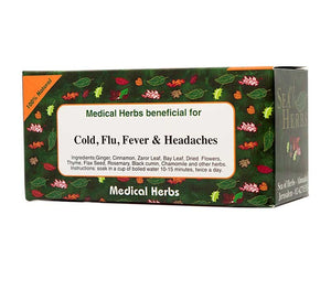 Cold, Flu, Fever, and Headaches Tea