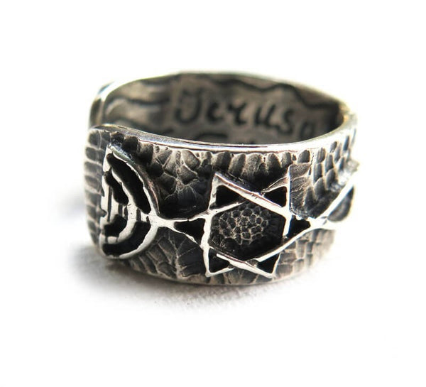 Grafted In - Silver ring -Unique - Free shipping