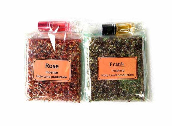 Rose & Frank Incense +oils