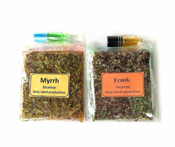 Incense Myrrh & Frank + oils
